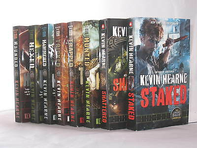 The Iron Druid Chronicles Novels by Kevin Hearne (Books 1-8 in Series) MM PB