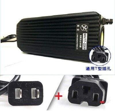Battery Charger 60V 2.5A 20AH Square E-BIKE Electric Scooter Bike Power charger