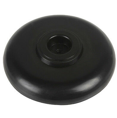 Cello or Bass Rock Stop End Pin Rest Stand Holder Black Non-slip Pad Plastic