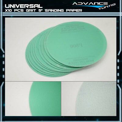 Disc 800 Grit 5 PSA Green Auto Sanding Paper Sheets Repair Sand Magic Tape 10Pcs