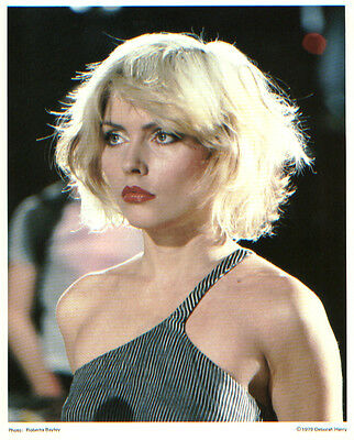 Blondie Debbie Harry Picture Beautiful 8x10 Original photo 1979 Heart Of Glass