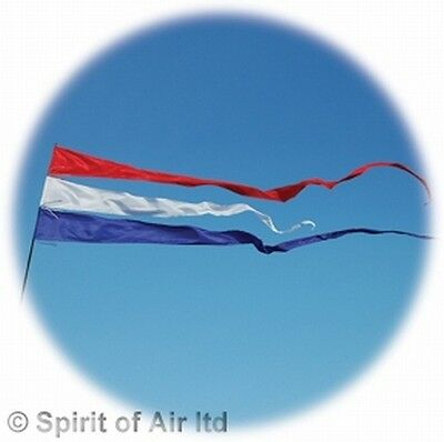 4 Metre Streamer Flag / Pennant - Choice of 8 Colours