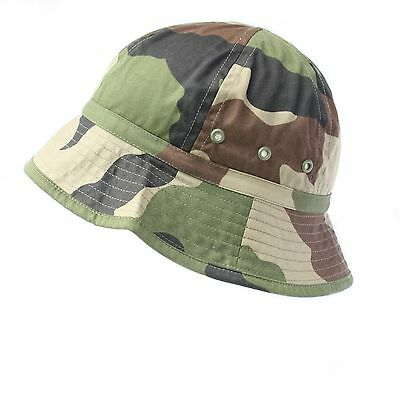 b3a4e45ac53 French Army   Foreign Legion CCE Camo Jungle Bush Hat Combat Field Boonie  Cap