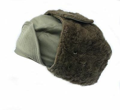 French Military Army / Foreign Legion cold weather Winter Arctic trapper hat Cap