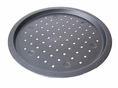 Prima Pizza Pan Non Stick Baking Cooking Oven Tray with air circulation Holes