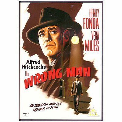 The Wrong Man - 1956 Henry Fonda, Vera Mile Brand New and Sealed UK Region 2 DVD