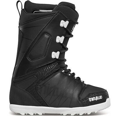 2015 NIB MENS THIRTYTWO LASHED SNOWBOARD BOOTS $210 black white ankle support