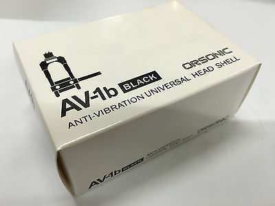 Orsonic AV-1b Anti-Vibration Universal Headshell, Japan