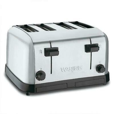 Waring 4 Slice Toaster, Medium Duty, High Quality Kitchen Equipment, Toasters
