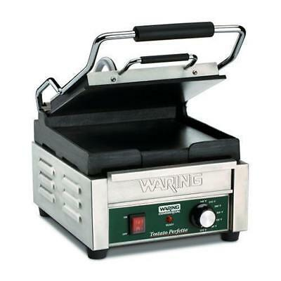 Waring Compact Panini Grill 24x23.5cm Plate, Commercial Kitchen Equipment