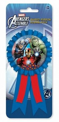 Avengers Assemble | Hulk Party Favour | Award Ribbon | Badge | Rosette 1-5pk