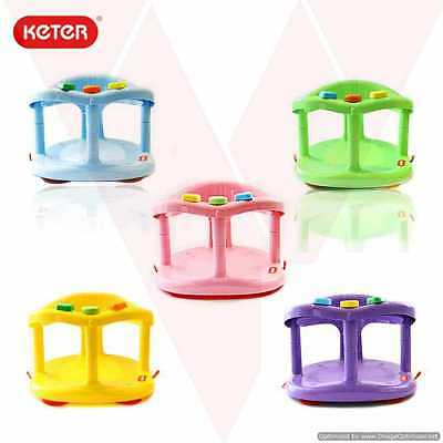 Baby Bath Seat RingTub New KETER Anti Slip Chair Safety For Your Baby Shower