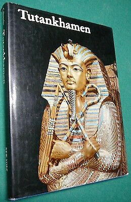 Tutankhamen: Life and Death of a Pharaoh (1976, Hardcover) New York Graphic Soc.