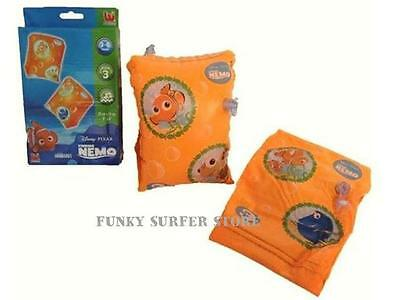 Childrens Kids Nemo Swim Float Inflatable Armbands Swimming Aid Ages 3-6 Years