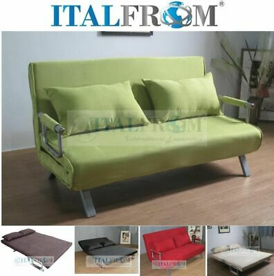 Sofa bed double sofa bed microfibre Italfrom Design