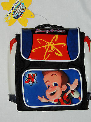 "New~Jimmy Neutron ~ Insulated Lunch Bag  Approx.  9 1/2"" X 9"""