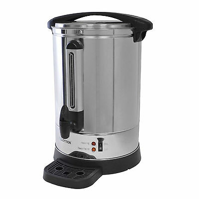 Lloytron Commercial Stainless Steel 20L Catering Hot Water Boiler Tea Urn E1920
