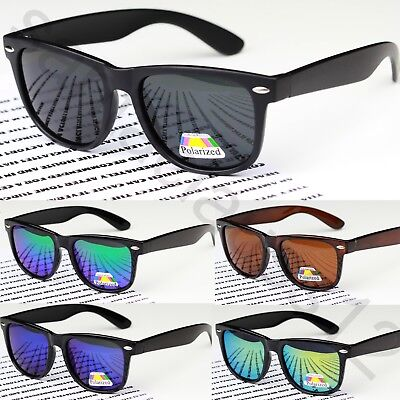 Polarized Classic Rectangular Square Shape Sunglasses  UV400 Women's Mens