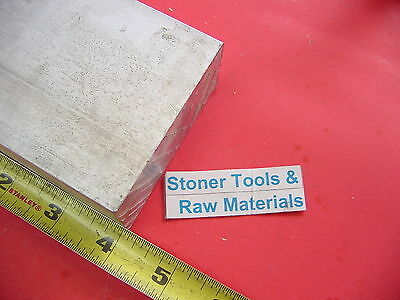 "2"" X 3"" ALUMINUM 6061 FLAT BAR 4"" long T6511 Solid 2.0"" New Plate Mill Stock"