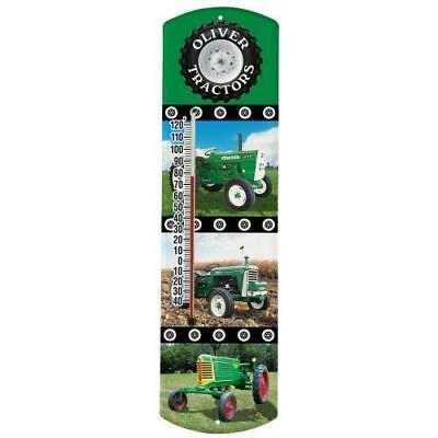 Heritage America by MORCO 375TOL Tractor-Oliver Outdoor or Indoor Thermometer,