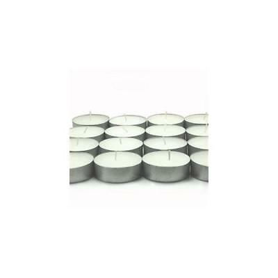 Large Unscented Tealights (24 Pack) VOT-033 New