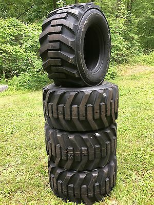 4-33X15.5-16.5  HD 14 PLy Skid Steer Tires-33X15.50-16.5 - Galaxy for Bobcat,etc
