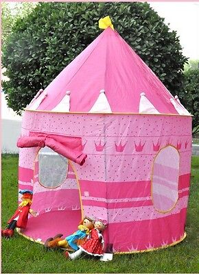 For Kids Outdoor Children Play Tent Portable Baby Toy Princess Cute Game House