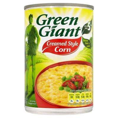 Green Giant Creamed Style Corn (418g)
