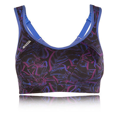 Shock Absorber Active Multi Support Womens Purple Running Gym Sports Bra