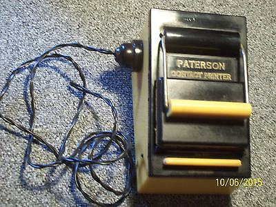 Early Bakelite / Catalin, Paterson Contact Printer 1954 And Safelight   -K10-