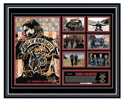 Sons Of Anarchy Jax Teller 2 Signed Limited Edition Framed Memorabilia