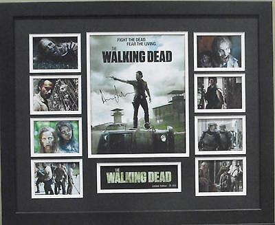 The Walking Dead Andrew Lincoln Signed Limited Edition Framed Memorabilia