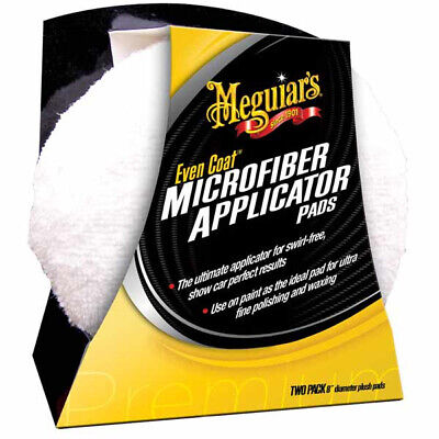 MEGUIAR´S Even Coat Microfiber Applicator 2x,  Mikrofaser Polierschwamm X3080EU