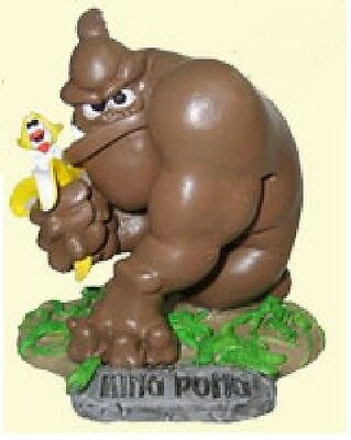 The Turds Figurines - KING PONG king kong - Brand NEW in Box no Log Book 1