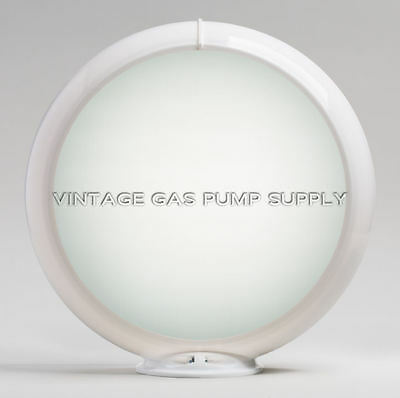 """Frosted 13.5"""" Gas Pump Globe (G132)"""