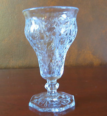 "McKee Rock Crystal Clear 5 5/8"" Low Water Goblet(s)"