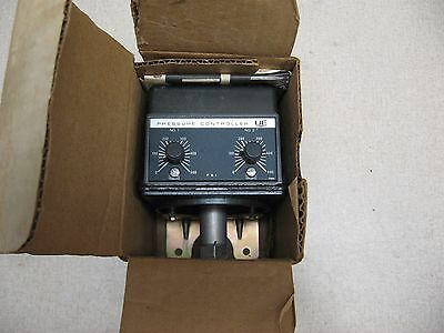 New - Ue United Electric 376 Type H302 0-500 Psi Pressure 125/250V-Ac Controller
