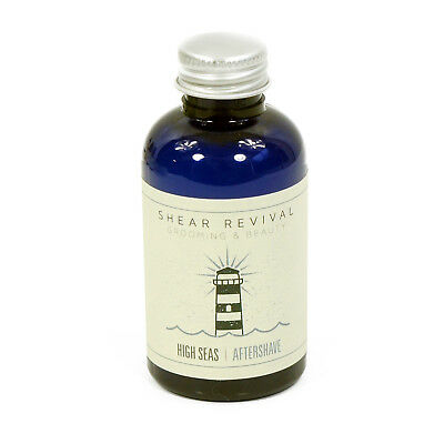 SHEAR REVIVAL High Seas All Natural Aftershave Balm 2oz NEW
