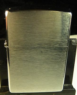 2005 Chrome Zippo Lighter Unused With light cosmetic defect Still Nice See Me !