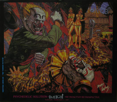 Robert Williams Lowbrow Exhibition Poster Dueling Bimbo