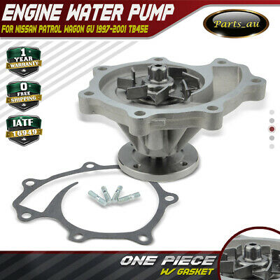Water Pump for Nissan Patrol Wagon GU 1997-2001 TB45E 4.5L Petrol 21010-VB025