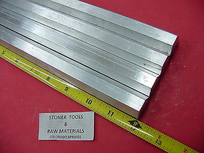 "4 Pieces HEX 3/4"" ALUMINUM 6061 HEX BAR 12"" long T6511 SOLID LATHE STOCK .75"""