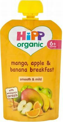 Hipp Organic Mango, Apple & Banana Breakfast with Wholegrain Cereals 6m+ (100g)