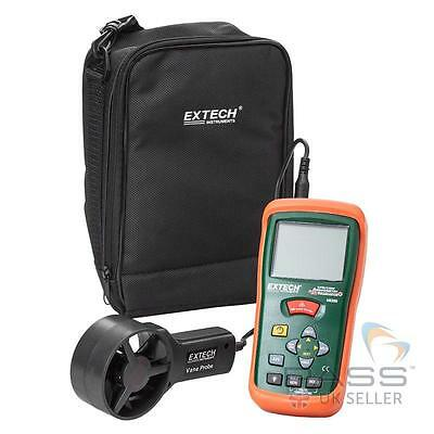 NEW Extech AN200 Mini Thermo Anemometer with Built-In IR Thermometer / UK