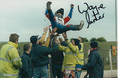 Wayne Carter Hand Signed Scunthorpe Scorpions Speedway 6X4 Photo 7.