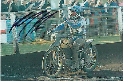 Paul Cooper Hand Signed Scunthorpe Scorpions Speedway 6X4 Photo 19.