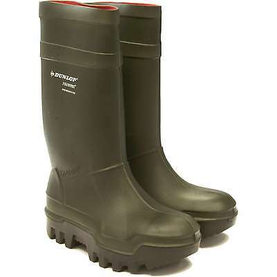 Dunlop Purofort Thermo+ full safety steel toe capped wellingtons