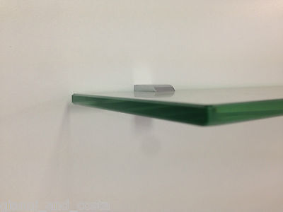Bathroom Accessories - Glass Shelf - Square / Round Design Model Xanthi