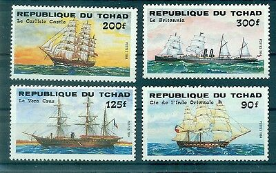 Voiliers - Vessels Tchad 1984
