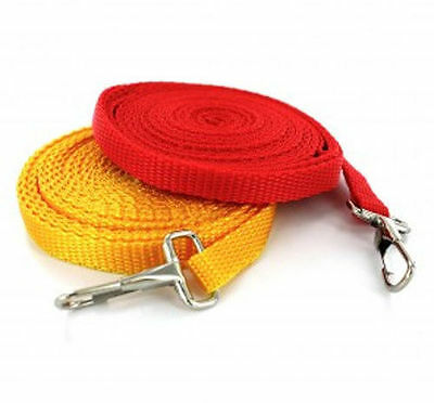 Dog Tie Out Leash 14 ft foot New Long Puppy Cat Ferret Pets Walk PICK YOUR COLOR